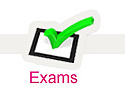 Examinations information page